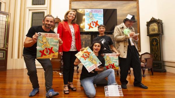 Presentación de la XIX edición del Festival Manicómicos