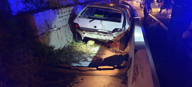 Detenido en Vigo un conductor 'kamikaze' que circuló 14 km por la A-55 en sentido contrario y embistió a un coche de la Guardia Civil