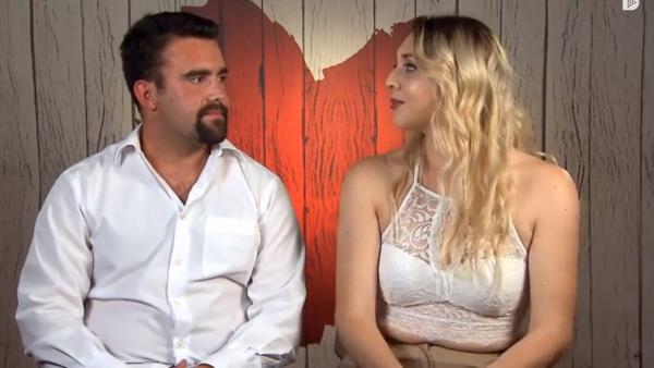 Carlos y Duna, en 'First dates'.