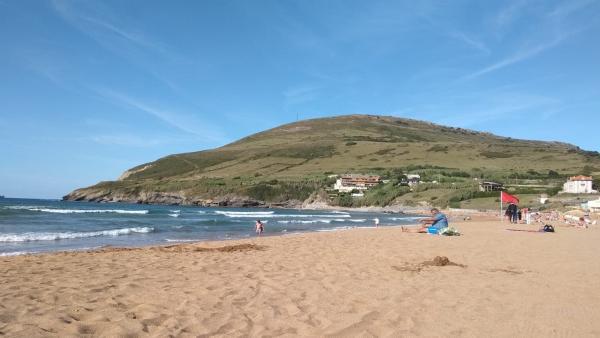 Playa de La Arena, en Muskiz (Bizkaia)