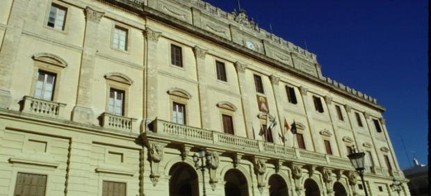 Frontal del Ayuntamiento de San Fernando