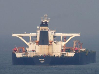 Petrolero iraní
