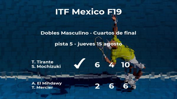 Tirante y Mochizuki ganan en los cuartos de final del torneo de Cancún