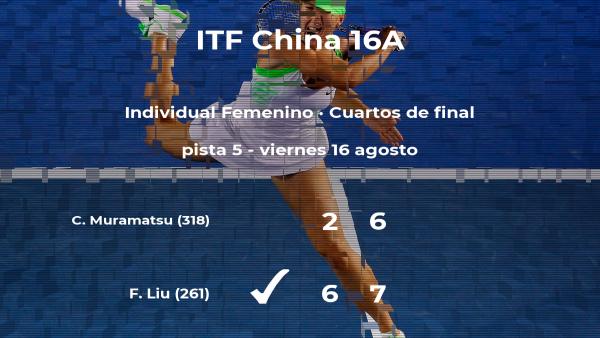 Fangzhou Liu logra la plaza de las semifinales a costa de Chihiro Muramatsu