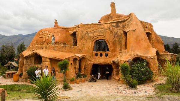 La casa de cerámica más grande del mundo