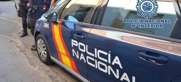 Imagen de recurso de un coche patrulla de la Policía Nacional.