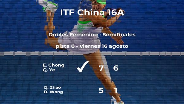 Triunfo para Chong y Ye en las semifinales del torneo de Huangshan