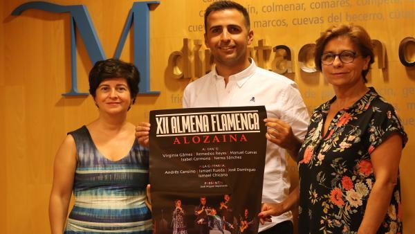 Prsentación de la Almena Flamenca en Alozaina