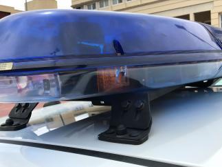 Sirena azul de la Policía