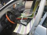 Un vehículo con hamacas como asiento