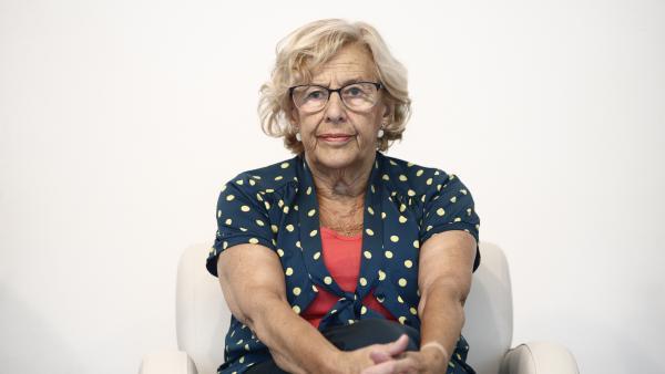 Imagen de archivo de la exalcaldesa de Madrid, Manuela Carmena.