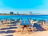 Salt Beach Club del hotel W de Barcelona