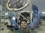 Rubén Fedriani en su sala de investigación