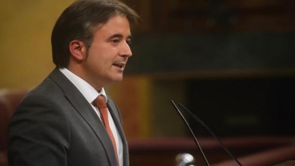 Diego Movellán en el Congreso