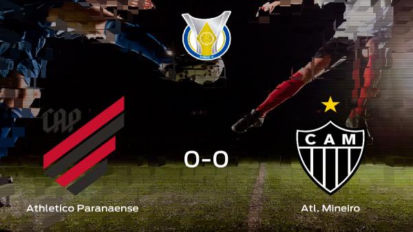 El Athletico Paranaense y el Atl. Mineiro empatan (0-0)