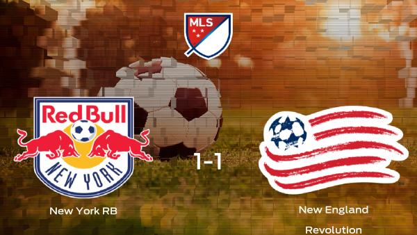 El New York RB y el New England Revolution solo suman un punto (1-1)