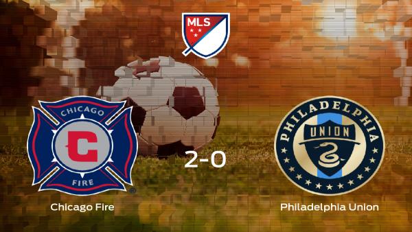 El Chicago Fire se hace fuerte en casa y derrota al Philadelphia Union