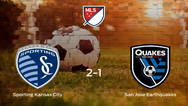 El Sporting Kansas City se queda con los tres puntos ante el San Jose Earthquakes (2-1)