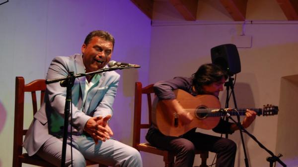 Ignacio Fajardo, ganador del concurso 'El cante en rama'