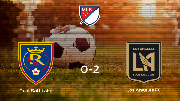 El Los Angeles FC se lleva tres puntos a casa tras ganar 0-2 al Real Salt Lake