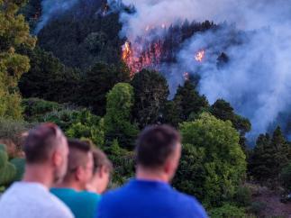 Incendio de Gran Canaria