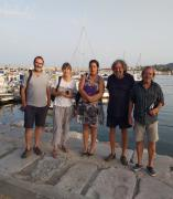 Integrantes de la asociación ecologista