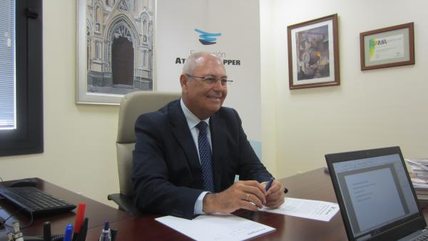 Antonio de la Vega, director general de la Fundación Atlantic Copper.