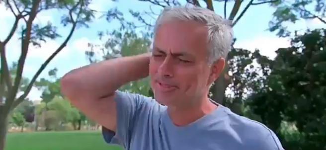 Mourinho rompe a llorar porque echa de menos entrenar