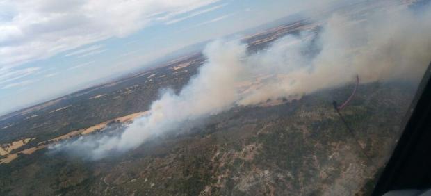 Incendio declarado en Guadalajara
