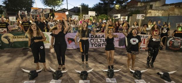 Concentración antitaurina en Ciudad Real