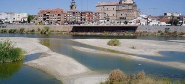 El río Tajo a su paso por Talavera de la Reina