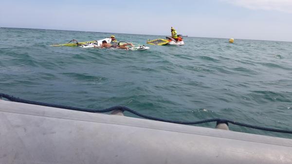 Rescate en playa alicantina