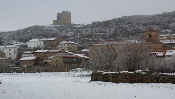 Pueblo nevado