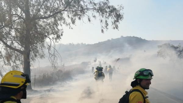 Incendio extinguido por Infoca.