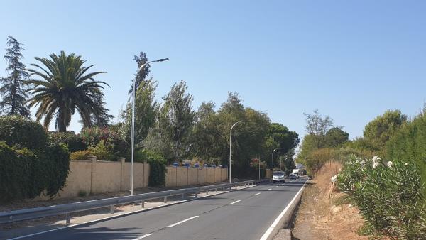 Carretera Espartinas Villanueva del Ariscal