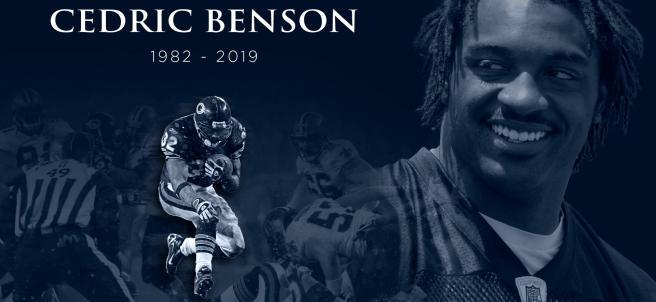 Cedric Benson muere en accidente de moto