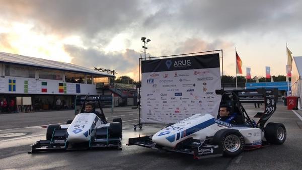 Los dos monoplazas españolas en la Formula Student Germany ARUS