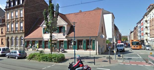 Calle Neuhofer Straße, en Mannheim.