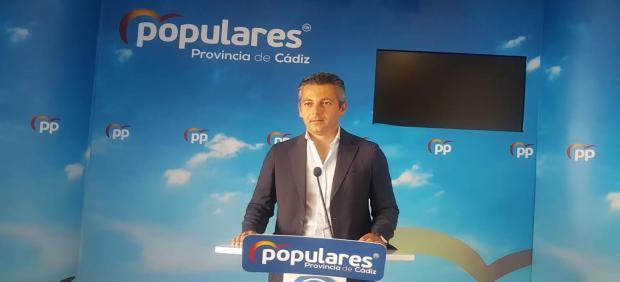 Andrés Núñez en rueda de prensa