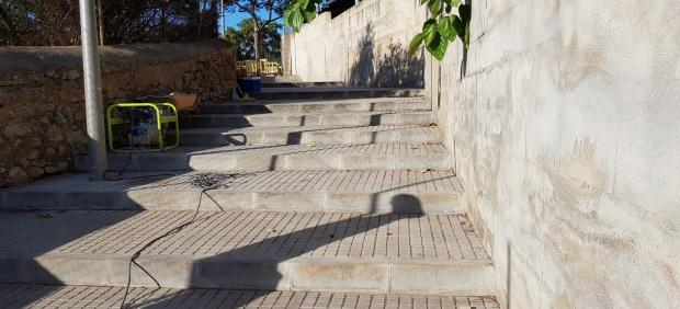 Nuevo acceso directo a la calle Joan de Saridakis desde las calles Puig de Alaró y Puig de Randa