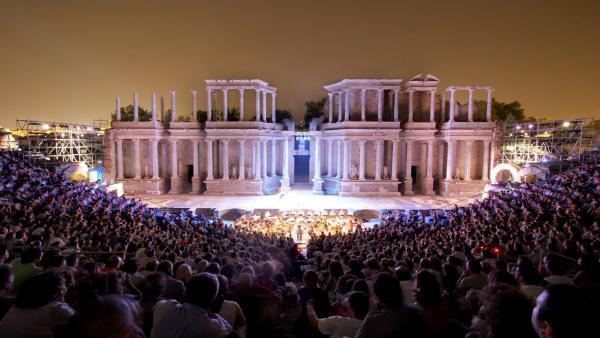 Teatro Romano de Mérida (Badajoz)
