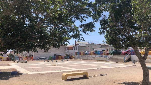 Espacio público en Los Almendros que se va a recuperar