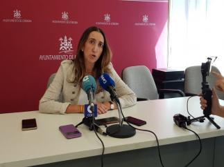 La portavoz de Vox en el Ayuntamiento de Córdoba, Paula Badanelli.