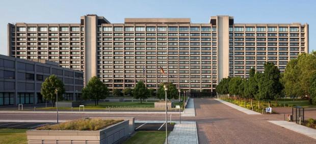 Sede del Banco Federal Alemán (Bundesbank) en Fráncfort, Alemania.