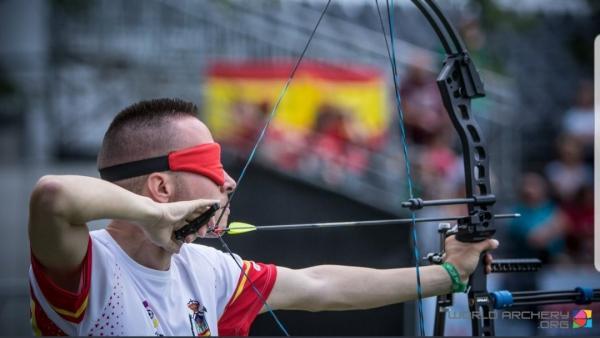 Daniel Martín Anaya en competición