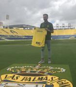 Deivid, jugador de la UD Las Palmas