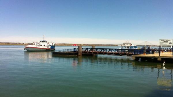 Muelle de Ayamonte.