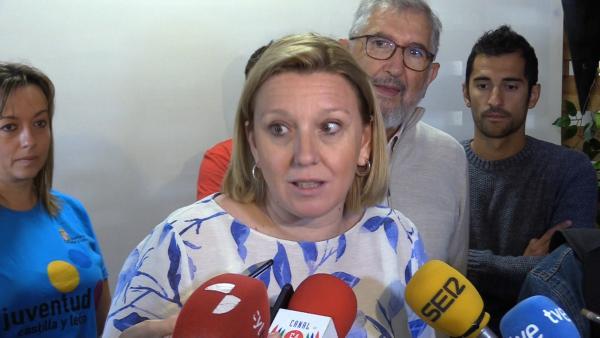 La consejera de Familia e Igualdad de Oportunidades de Castilla y León, Isabel Blanco.