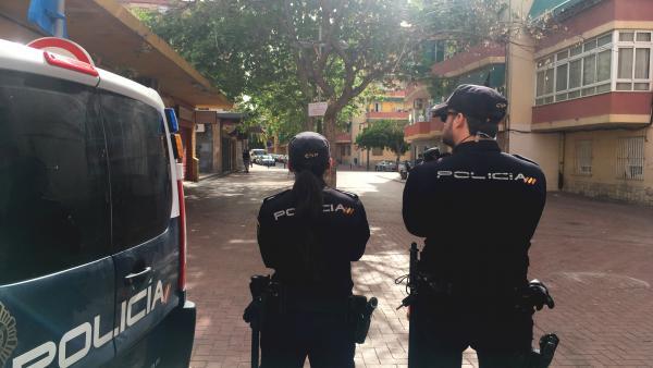 Agentes de la Policía Nacional en imagen de archivo.