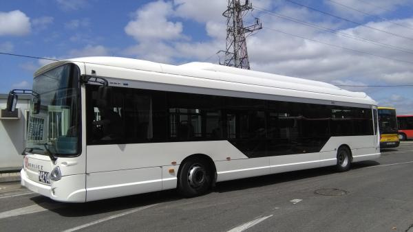 HEULIEZ Bus De IVECO 100% Eléctrico